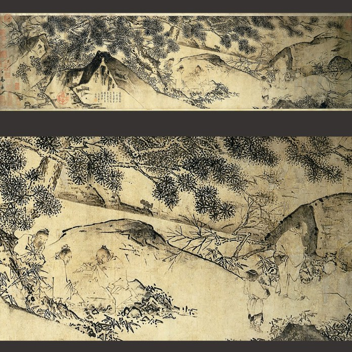 Ma Yüan - Handscroll- The Four Sages of Shangshan