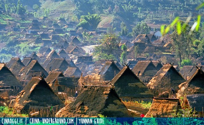 Wa village, yunnan