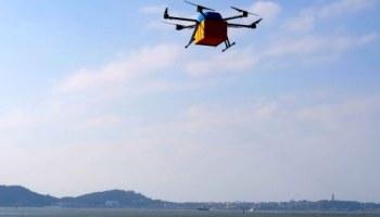 Alibaba's drones