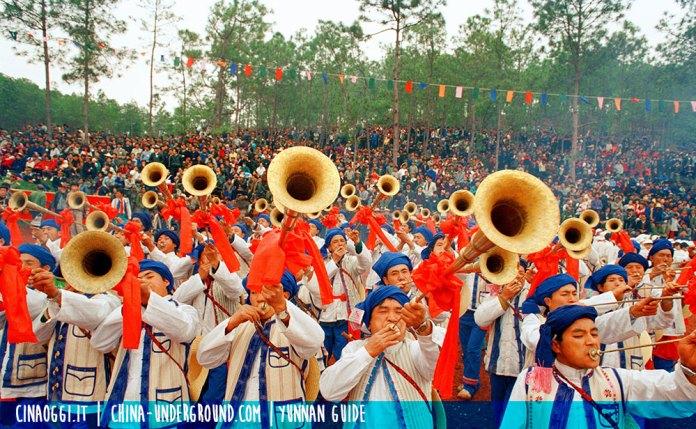 Yi people festival