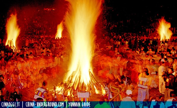Yi people - Torch festival