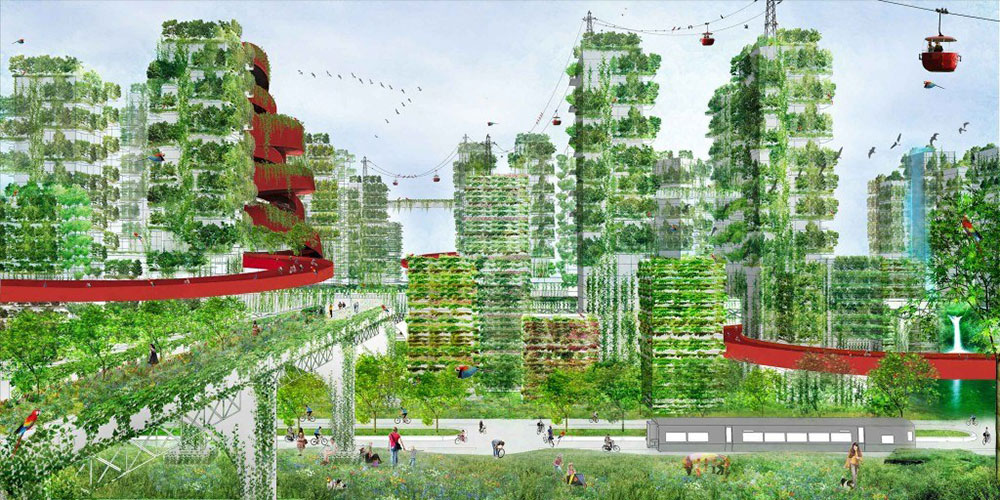Shijiazhuang-Forest-City