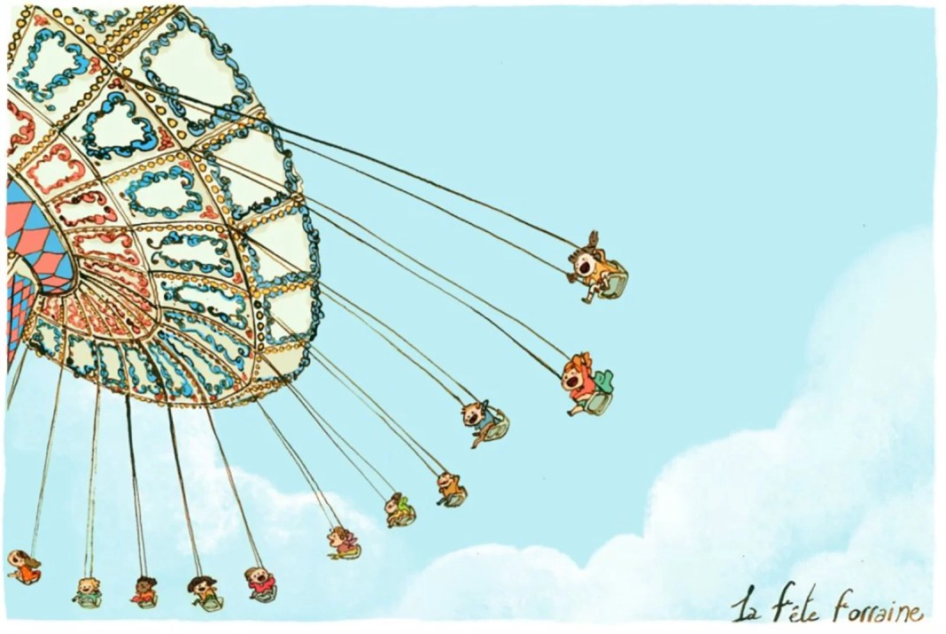 children illustrator Qin Leng