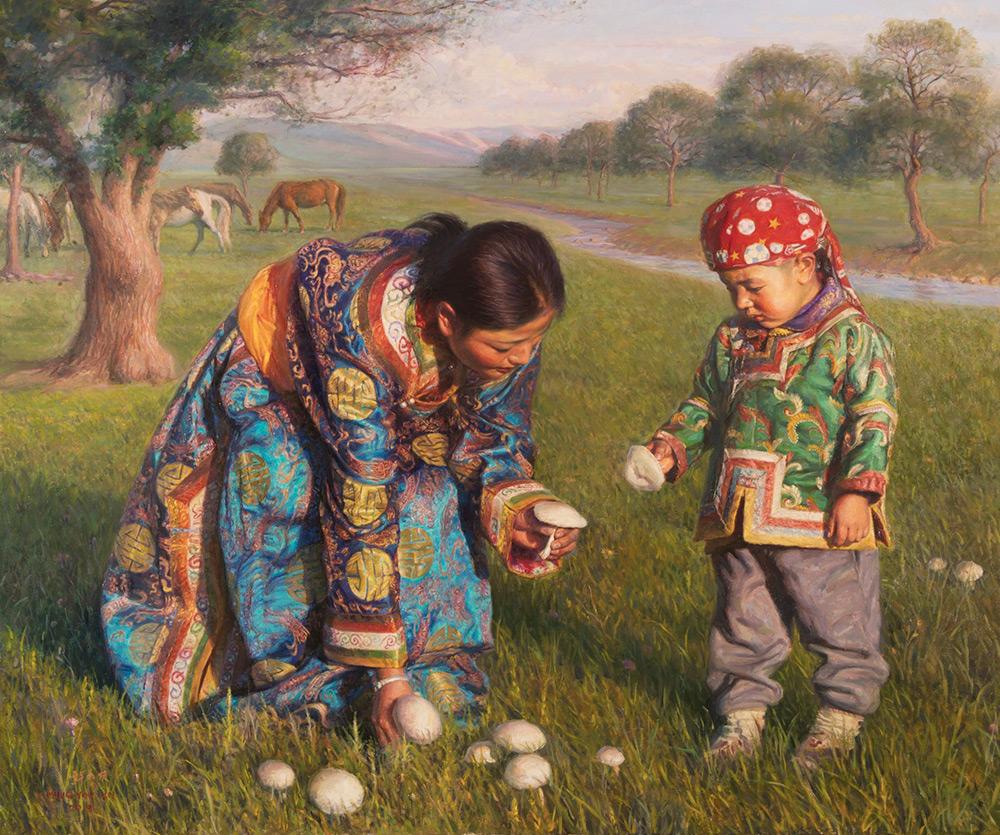 Ming You Xu paintings