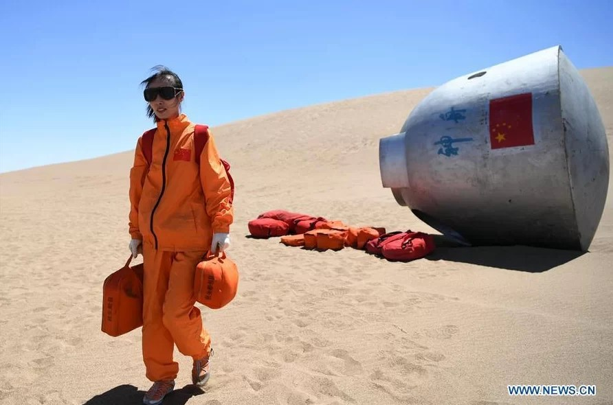 Chinese-astronauts-training