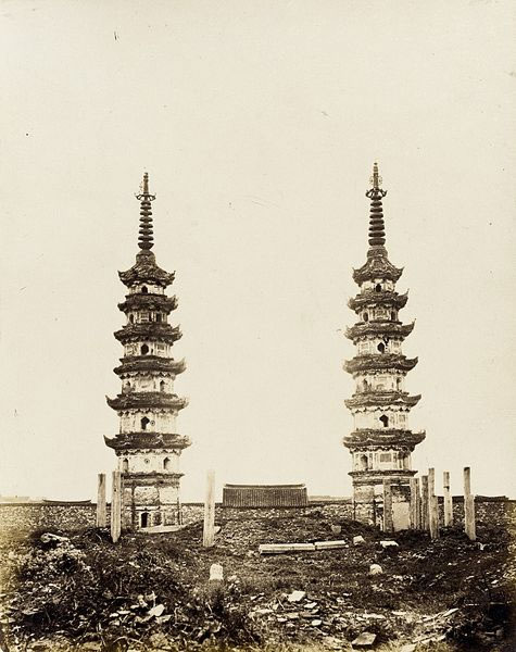 Twin-Pagodas,-Southern-Sung-Style