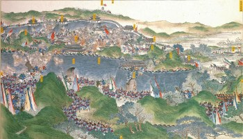 A-scene-of-the-Taiping-Rebellion,-1850-1864