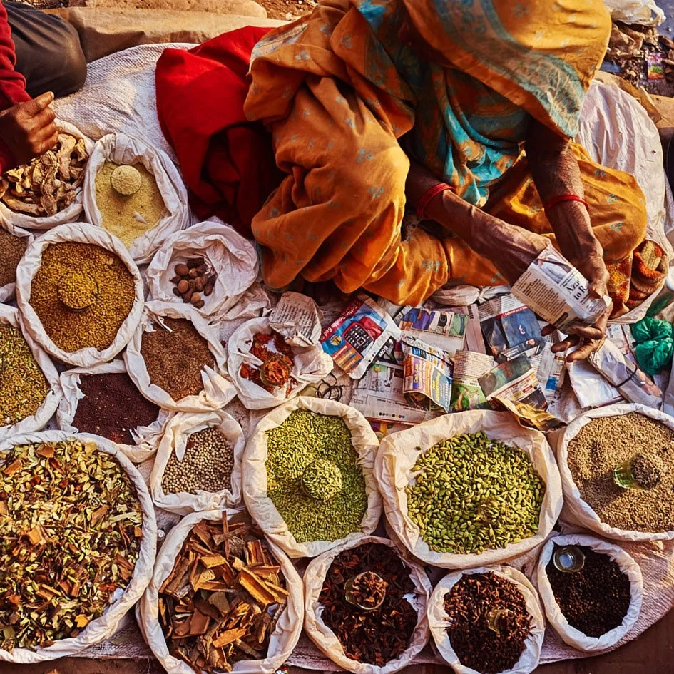 travel old delhi india indian food market