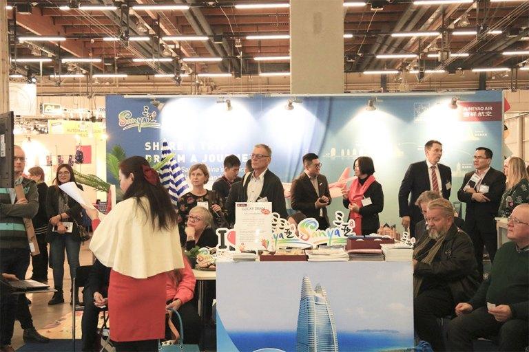 Sanya tourism delegation