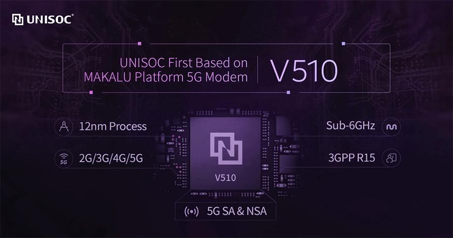 UNISOC 5G Modem V510