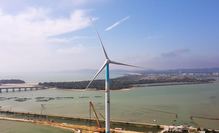 China's-First-8MW-Offshore-Wind-Turbine-Enters-Full-Load-Operation