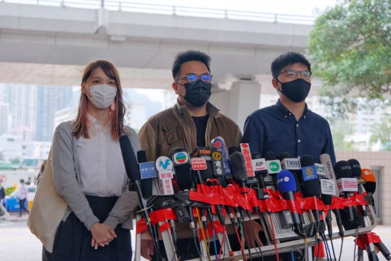 Joshua Wong, Agnes Chow, and Ivan Lam plead guilty in the Hong Kong protests trial