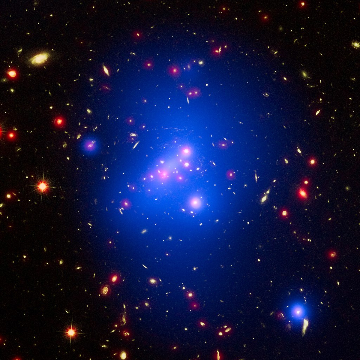 Scientists discover earliest protocluster
