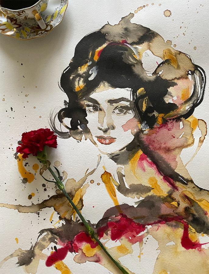 Coffee-portraits-painting