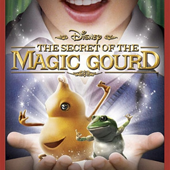 """Poster for the movie """"The Secret of the Magic Gourd"""""""