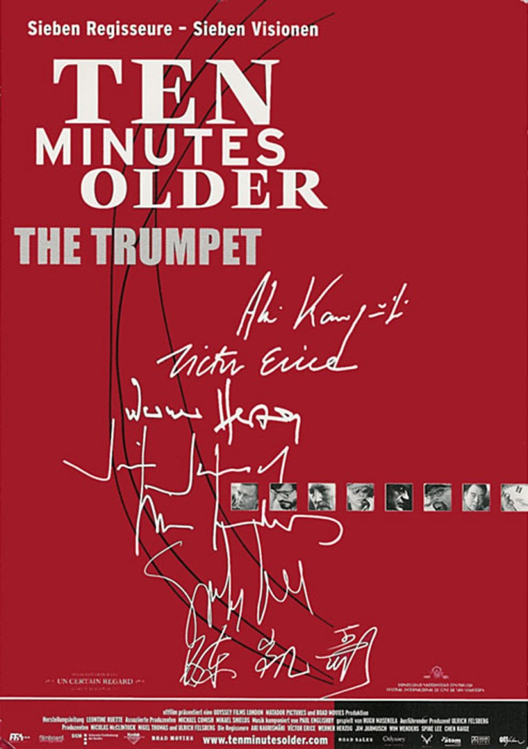 """Poster for the movie """"Ten Minutes Older: The Trumpet"""""""