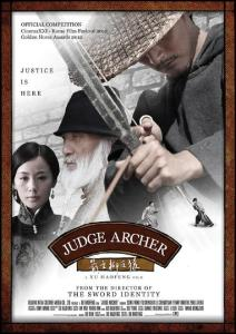 "Poster for the movie ""Judge Archer"""
