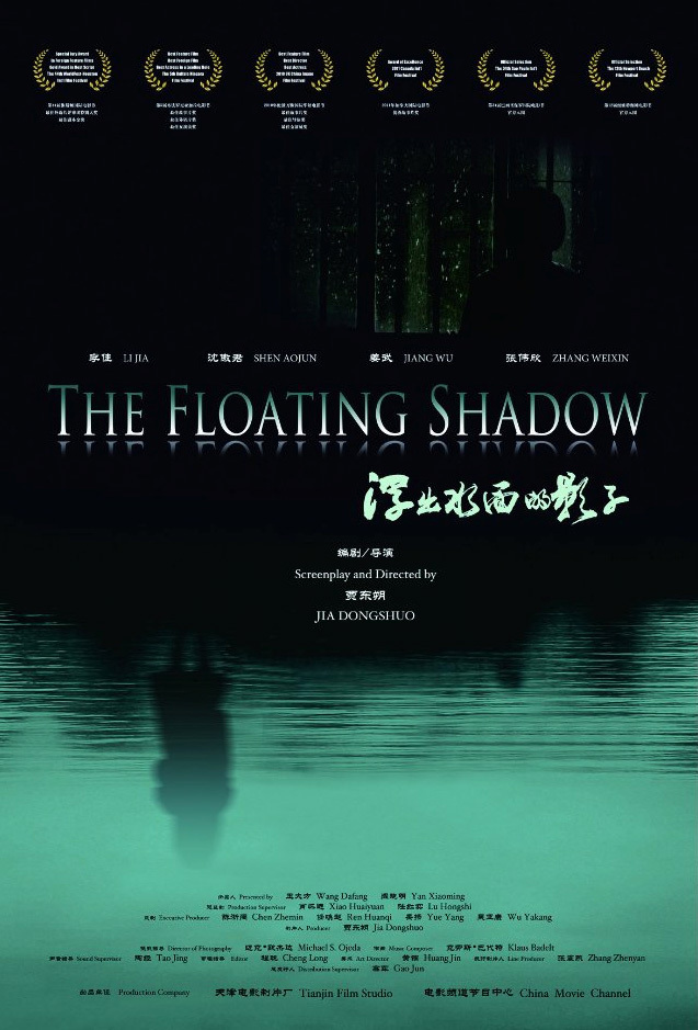 """Poster for the movie """"The Floating Shadow"""""""