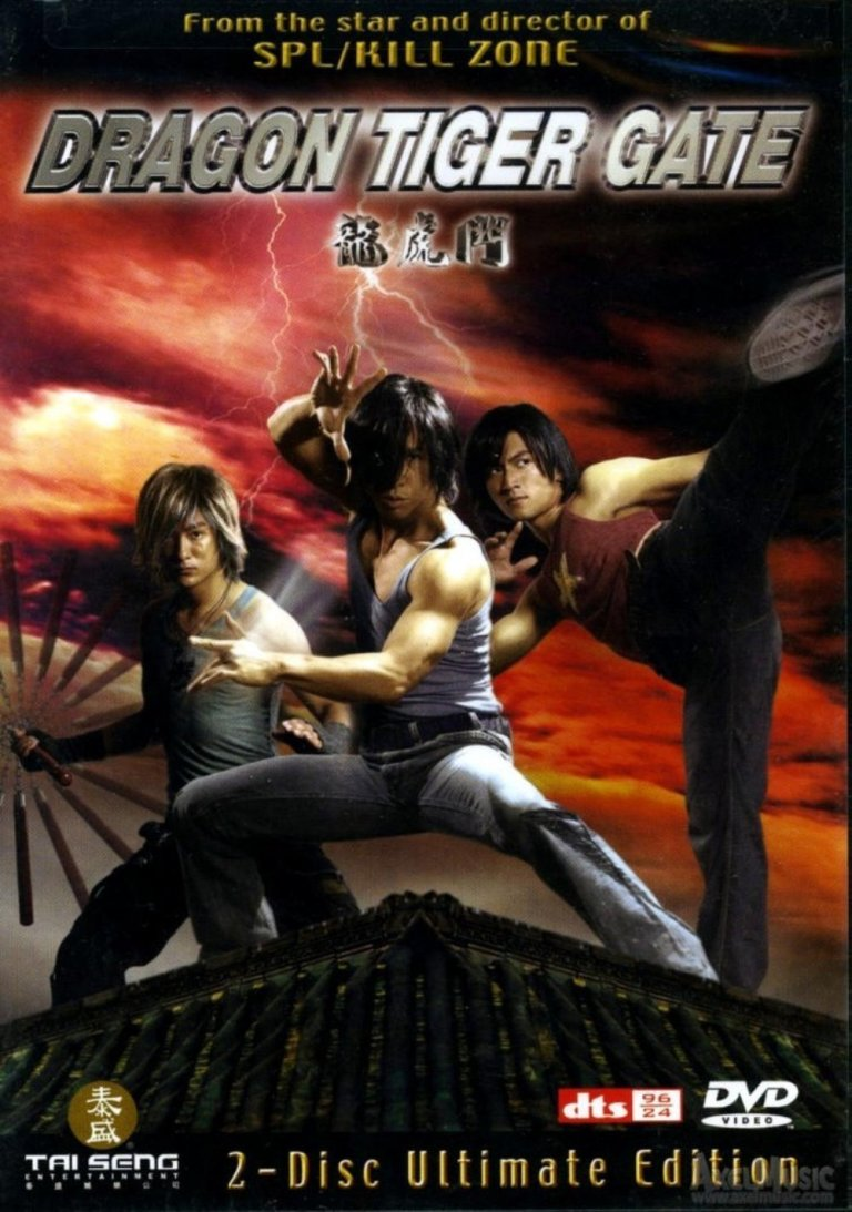 """Poster for the movie """"Dragon Tiger Gate"""""""