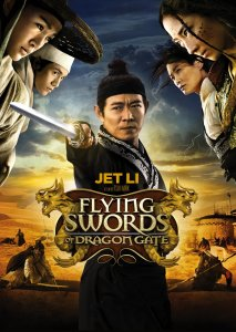 """Poster for the movie """"Flying Swords of Dragon Gate"""""""