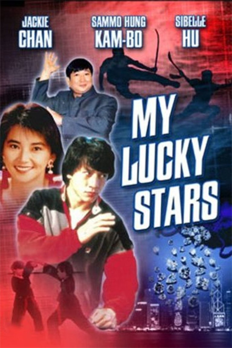 """Poster for the movie """"My Lucky Stars"""""""