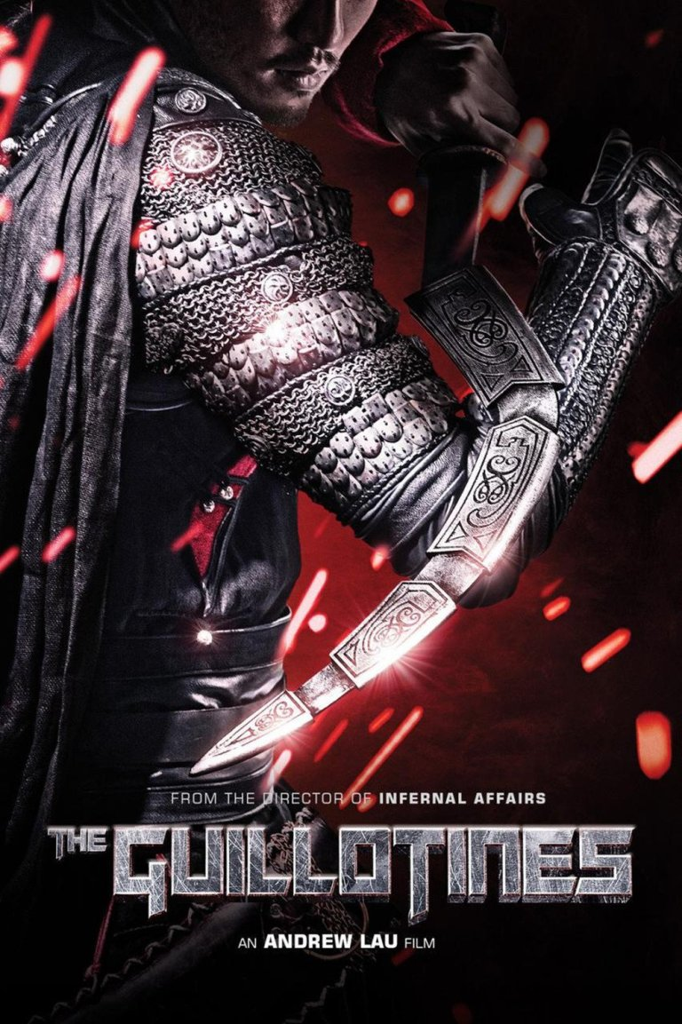 """Poster for the movie """"The Guillotines"""""""