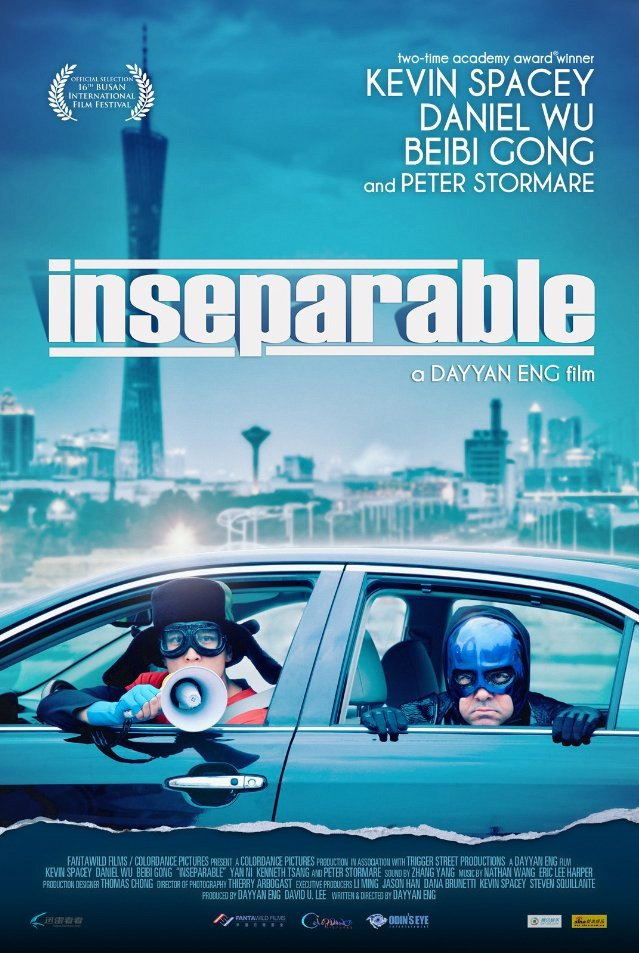 """Poster for the movie """"Inseparable"""""""