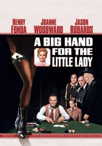 "Poster for the movie ""A Big Hand for the Little Lady"""