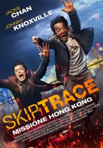 """Poster for the movie """"Skiptrace"""""""