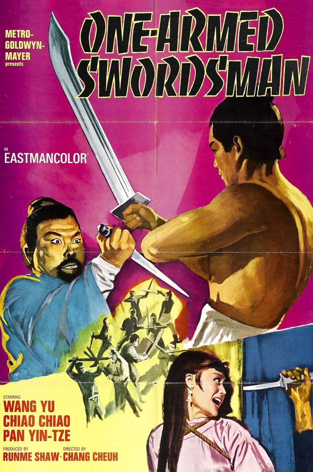 """Poster for the movie """"The One-Armed Swordsman"""""""