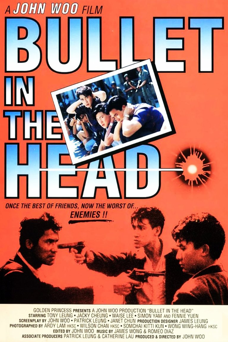 """Poster for the movie """"Bullet in the Head"""""""