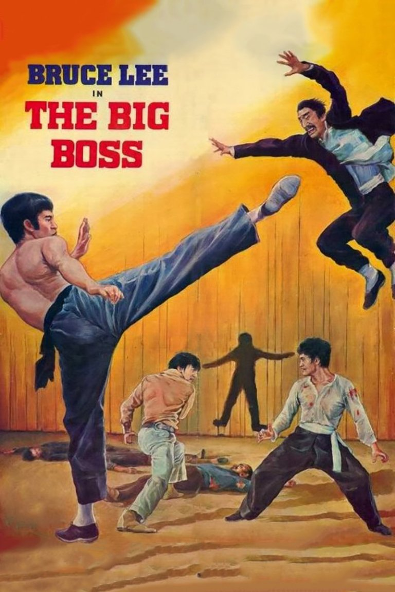 """Poster for the movie """"The Big Boss"""""""
