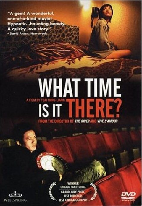 """Poster for the movie """"What Time Is It There?"""""""