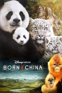 """Poster for the movie """"Born in China"""""""