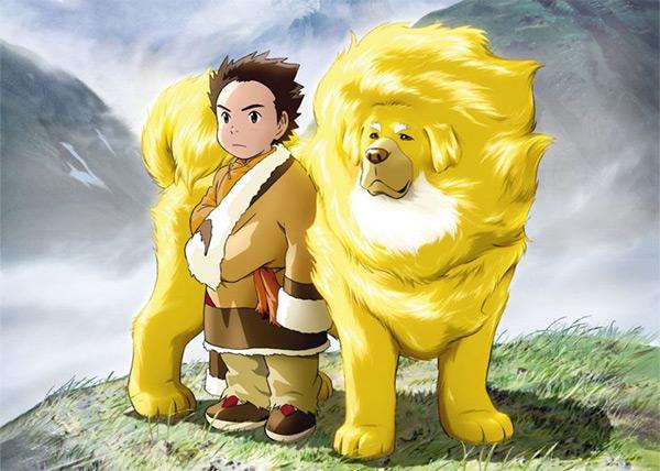 Tibetan-Dog