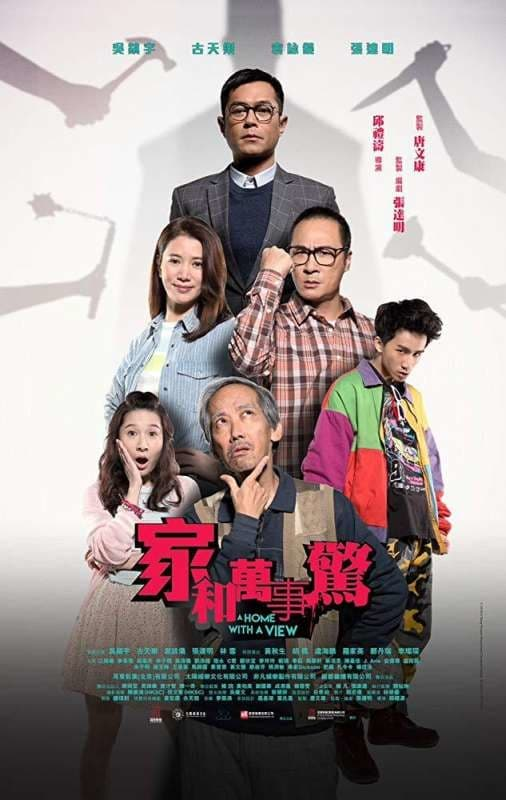 """Poster for the movie """"A Home With A View"""""""
