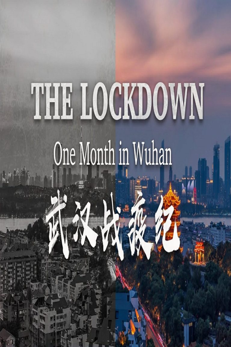 """Poster for the movie """"The Lockdown: One Month in Wuhan"""""""
