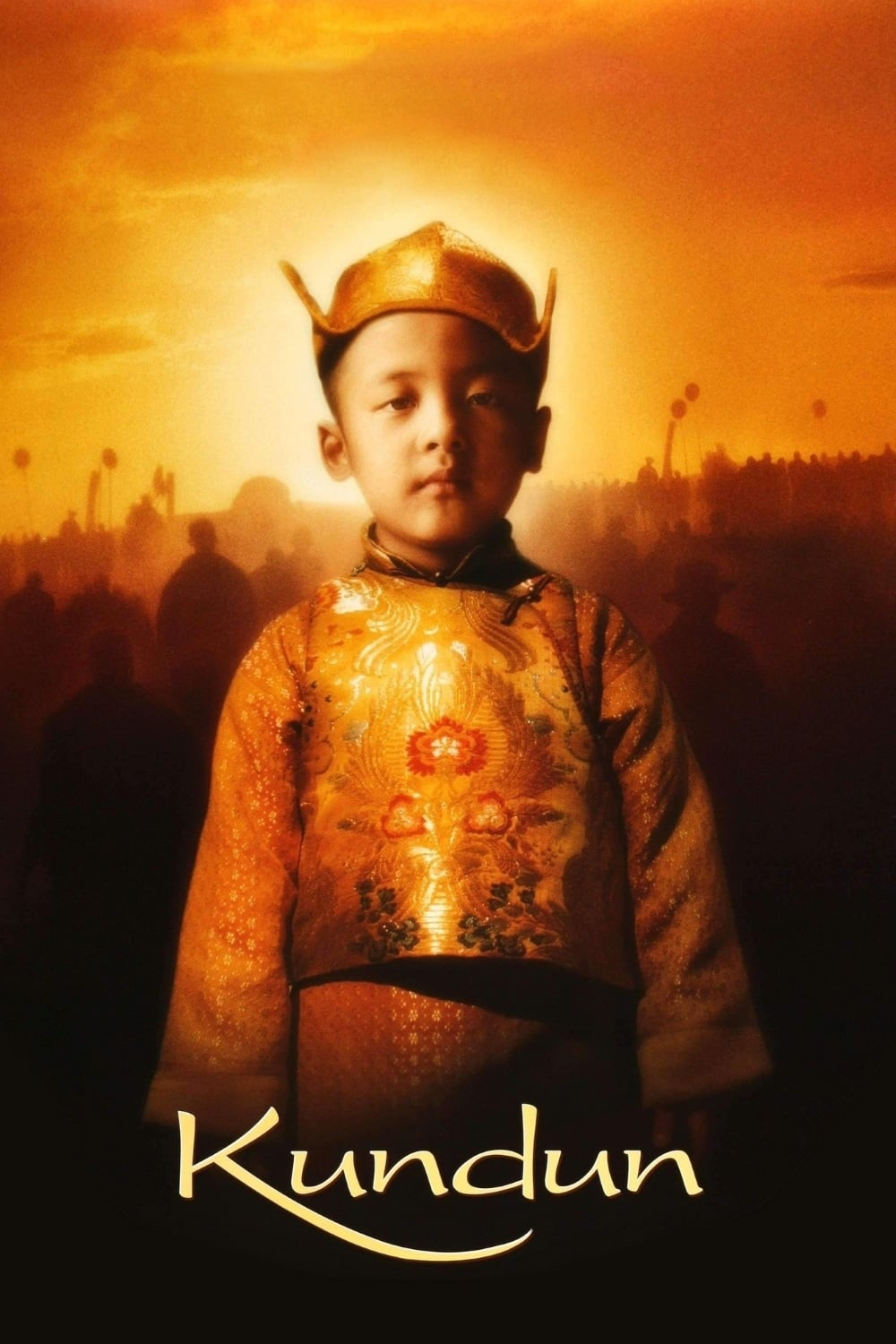 """Poster for the movie """"Kundun"""""""