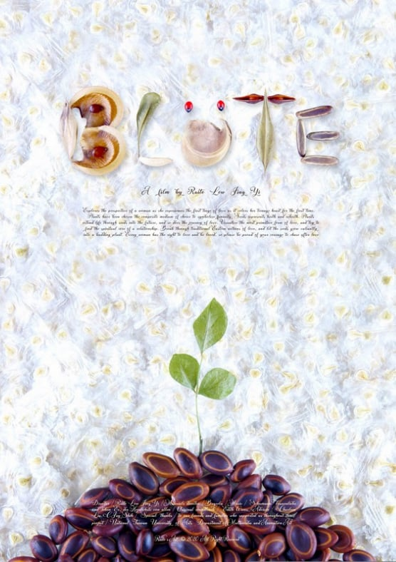 """Poster for the movie """"Blüte"""""""