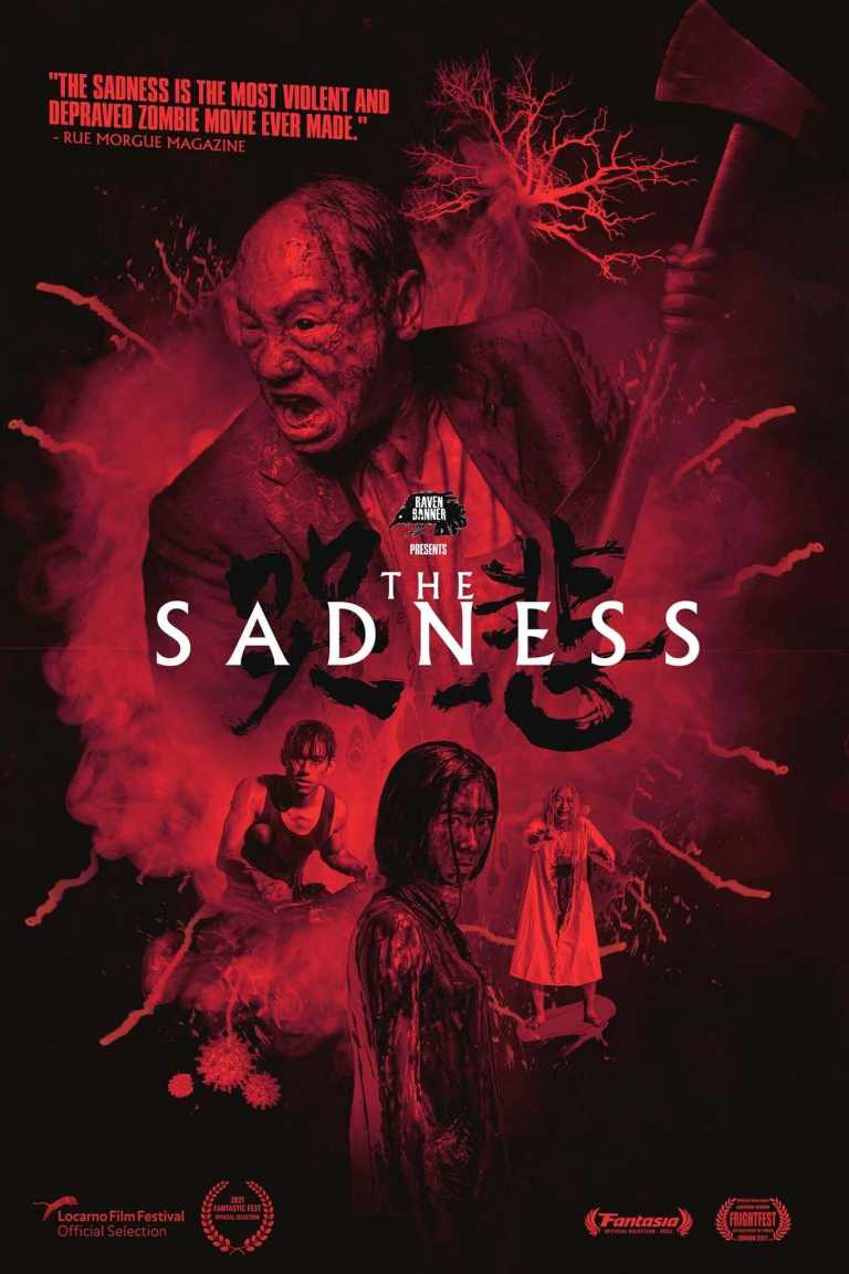 """Poster for the movie """"The Sadness"""""""