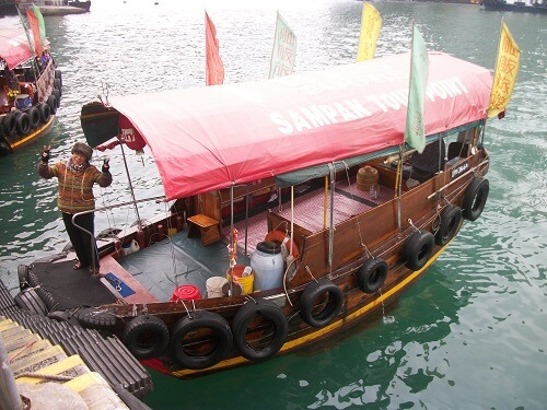 Sampan tour Aberdeen Vissersdorp - Hong Kong, S.A.R. China
