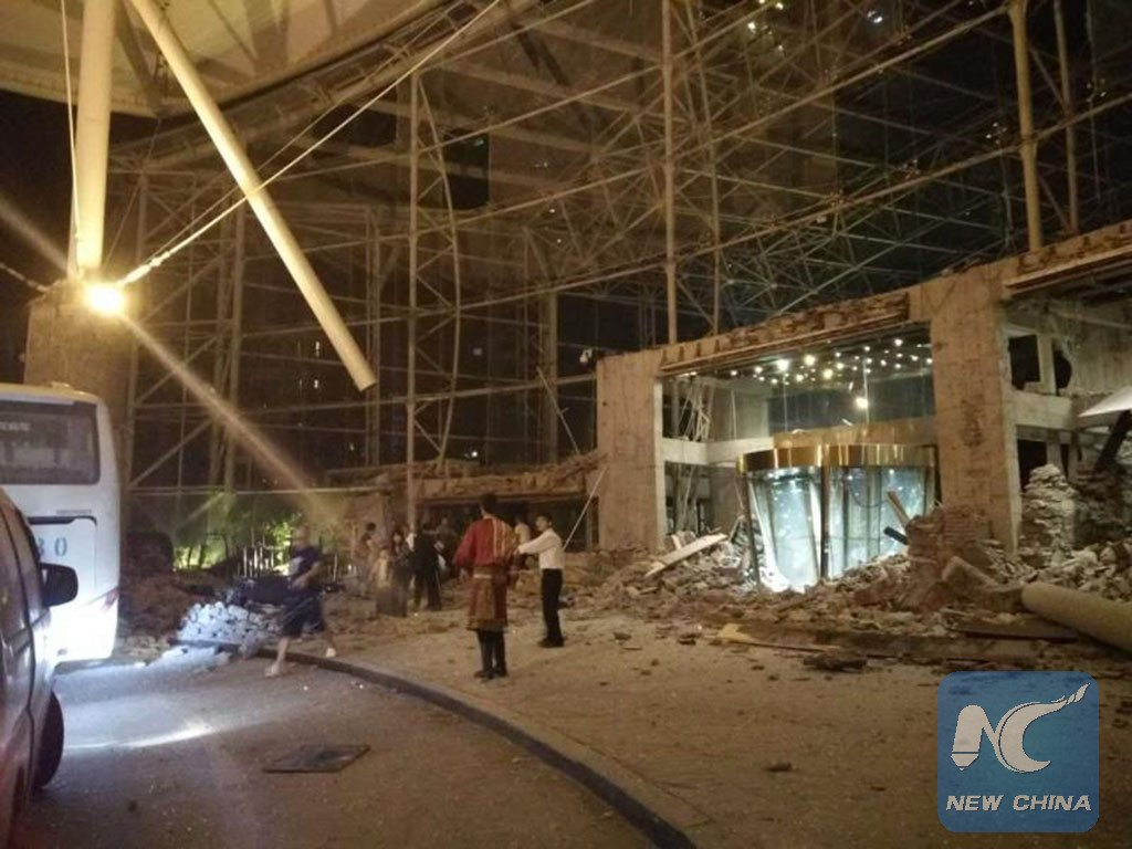 A 7 0 magnitude earthquake hit Jiuzhaigou County in southwest     A 7 0 magnitude earthquake hit Jiuzhaigou County in southwest China s  Sichuan Province at 9 19 p m  Tuesday  Beijing Time