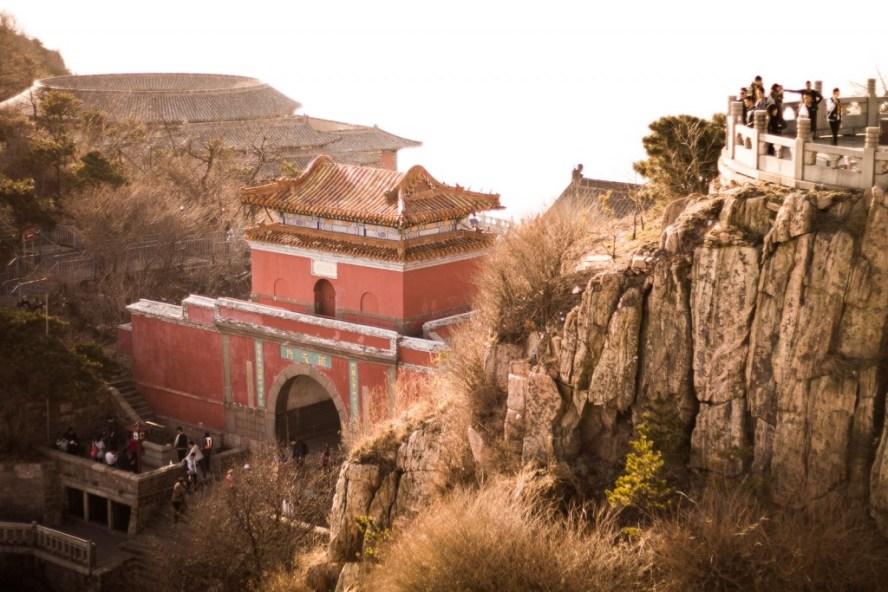 Taishan mountais