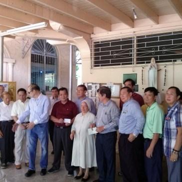 巴拿马中华总会圣诞节和新年慰问,捐赠孤儿院和老人院