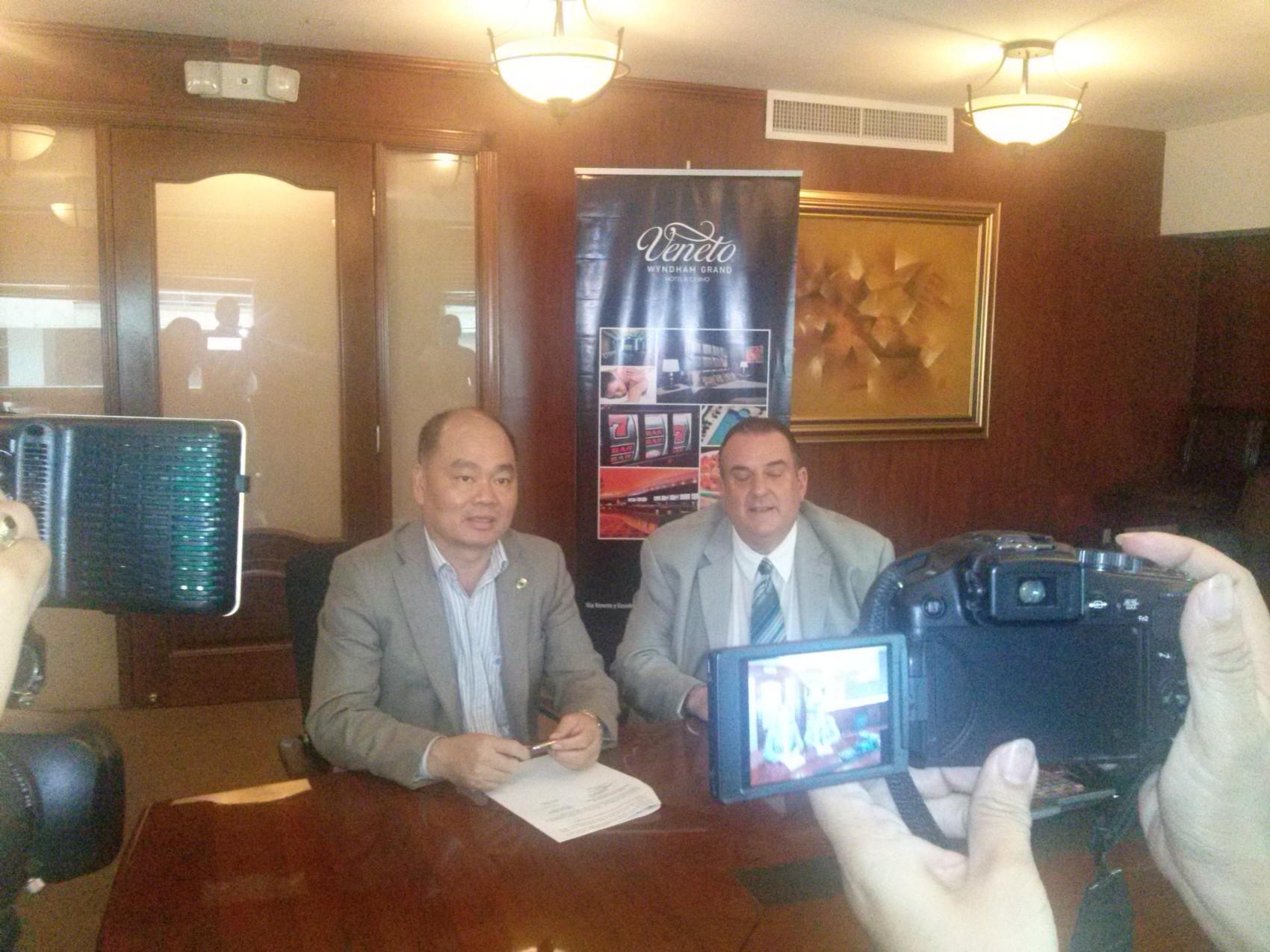 Hotel Veneto赞助并参与2015巴拿马华人新春年会