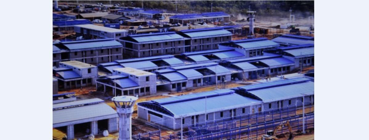 巴京Joyita监狱缴获武器及手机