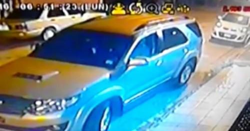 视频: 侨胞注意,歹徒抢车的作案方式