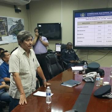 中华总会连同侨社代表与警察局代表就近期社会治安问题进行会晤