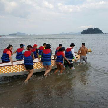 每日视频— 巴拿马首届龙舟赛训练在即
