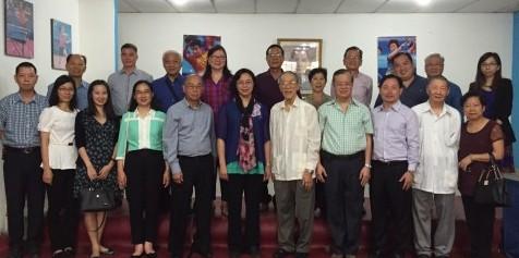 Visita de la Asociación de Amistad de Ultramar de Zhongshan